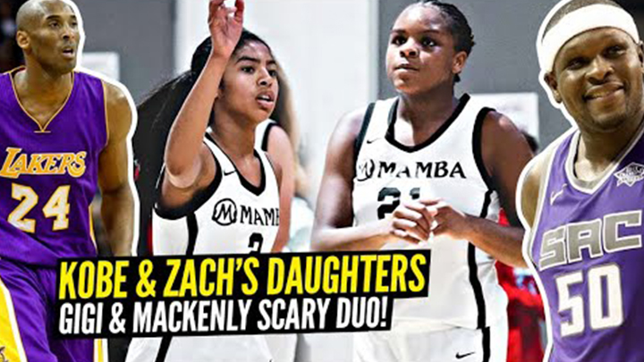 Gigi Bryant Teams up with Zach Randolph's Daughter Mackenly & Wins Championship!