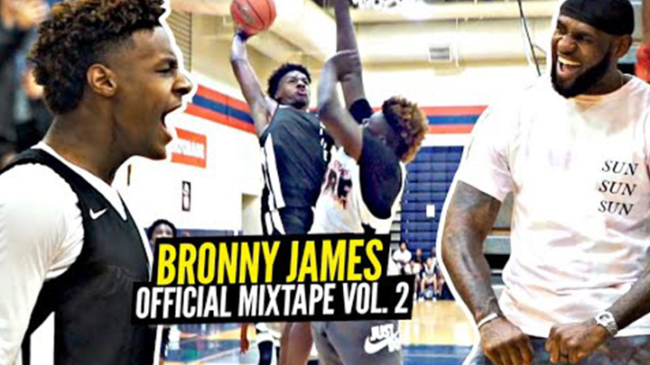 Bronny James Official Mixtape Volume 2!!