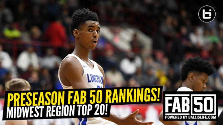 Preseason 2019-20 MIDWEST Region Top 20 Rankings!