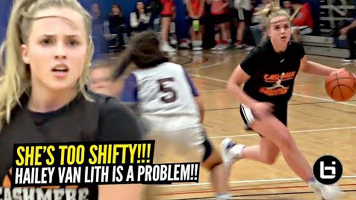 Hailey Van Lith is TOO Shifty!!