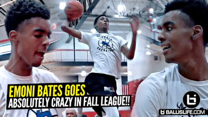 Emoni Bates Goes Crazy & Shows Off Next Level Scoring...