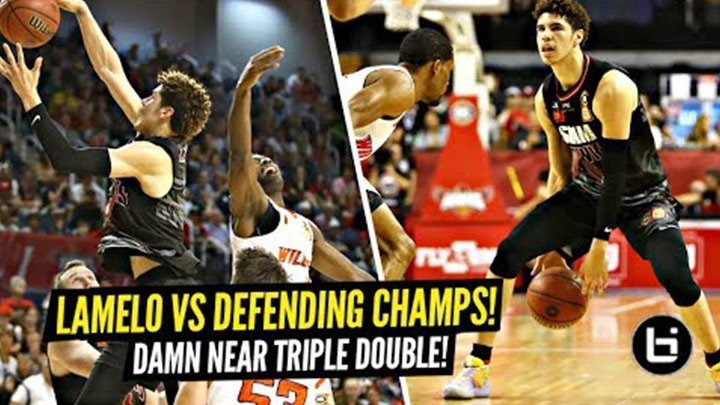 LaMelo Ball vs 6x NBL Defensive Player of the Year & Defending Champs!