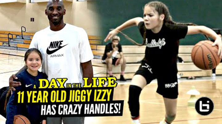 11 Year Old Jiggy Izzy Has Crazy Handles and Kobe's Seal of Approval! A Day in the Life!