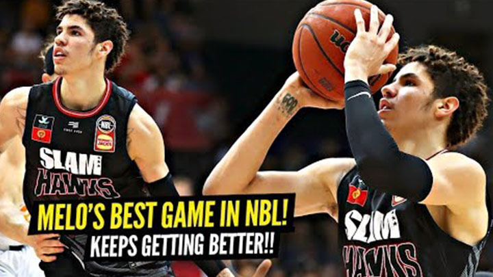 LaMelo Ball Drops His NBL Career High and Shows Off Crazy Vision!
