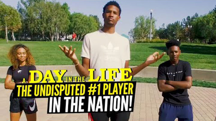 A Day in the Life with the #1 Player in the Country! Evan Mobley is Living the Life!