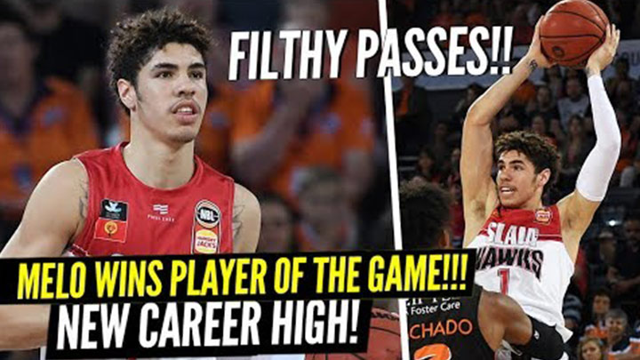 LaMelo Ball Goes Off For New Career High and Throws Filthy Passes in Win!