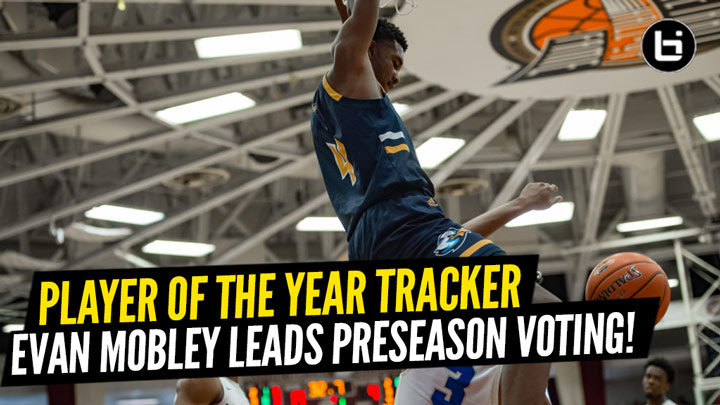 Evan Mobley Tops Preseason POY Tracker!