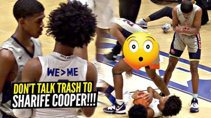 Sharife Cooper Drops 30 in INTENSE Game vs Trash Talking...