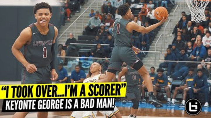 Keyonte George is a Bucket! Drops 32 in Win Over AAU...