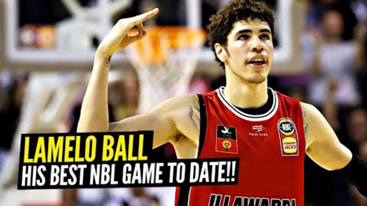 LaMelo Ball Goes Off For 32 Point Triple Double! Youngest in NBL History!