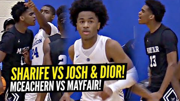Sharife Cooper vs Josh Christopher Gets Heated! Sharife Drops 44 Points! Josh Goes For 36!