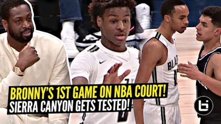 Sierra Canyon Get Tested in Front of 12,000 Fans!
