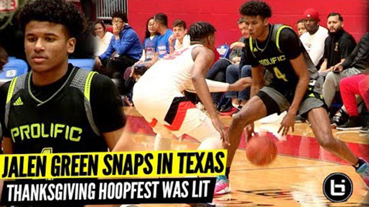 Jalen Green and Mike Miles Go at it at Thanksgiving Hoopfest!