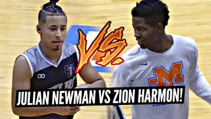 Best Friends Julian Newman & Zion Harmon Battle in...