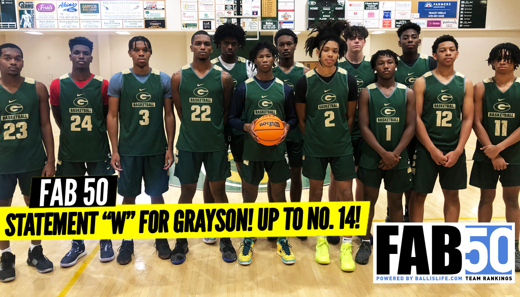 NEW FAB 50 Rankings: NEW No. 1 & 11 Newcomers!