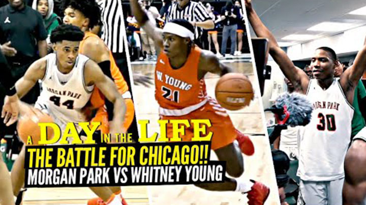 A Gameday Day in the Life at the Battle for Chicago, Whitney Young vs Morgan Park!