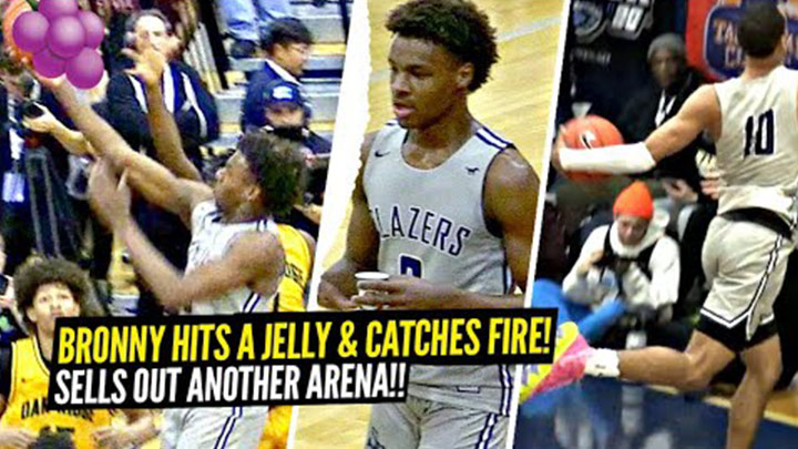 Bronny James, Amari Bailey, and Sierra Canyon Put on a Show in Vegas!