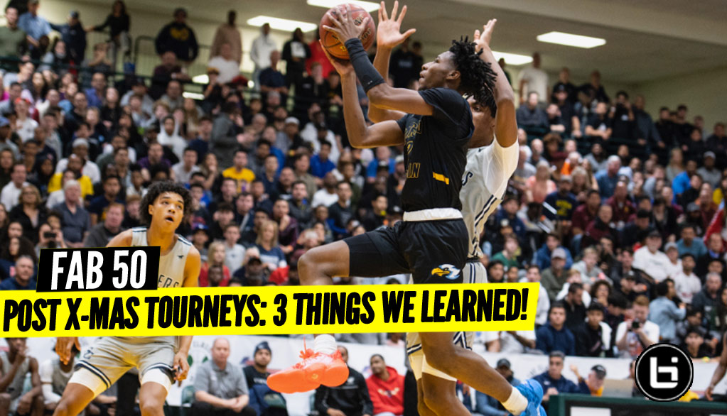 Holiday Tournaments: 3 Things We Learned!
