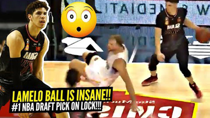 LaMelo Ball's Top Plays of the NBL Season! He's Gunning for that #1 Pick!