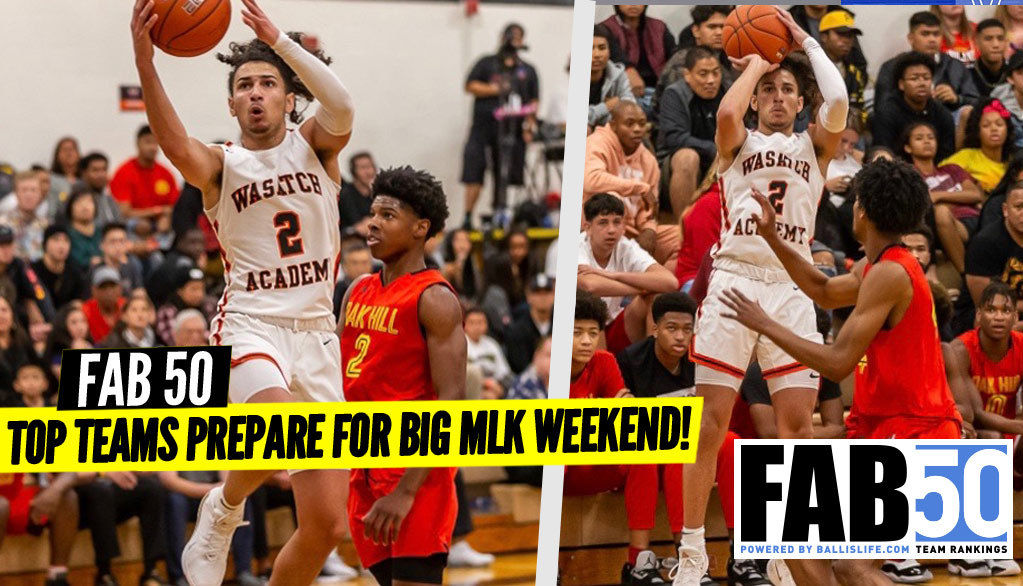 UPDATED FAB 50 Rankings: Gearing Up For MLK Weekend!