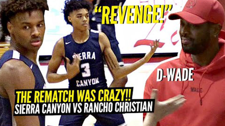 Sierra Canyon Gets Revenge on Rancho Christian and #1 Evan...