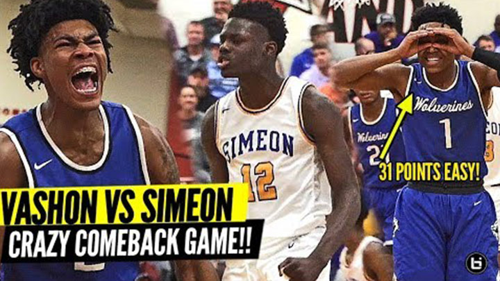Vashon and Simeon GO AT IT! Phil Russell vs Ahamad Bynum in...
