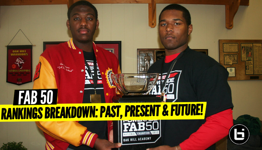 FAB 50 Breakdown: Past, Present, Future