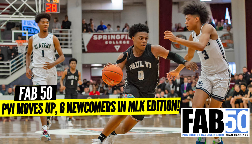 NEW FAB 50 Rankings: 6 Newcomers After MLK Weekend!