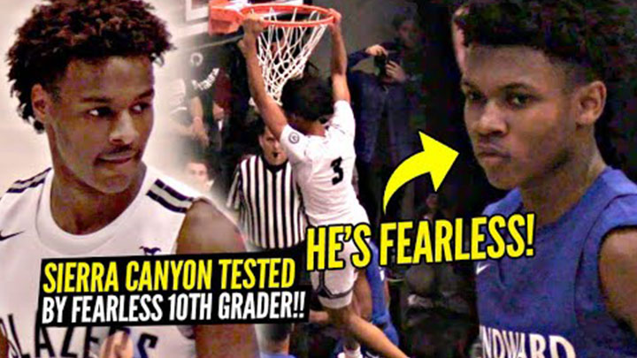 Sierra Canyon Gets Tested by Fearless 10th Grader!