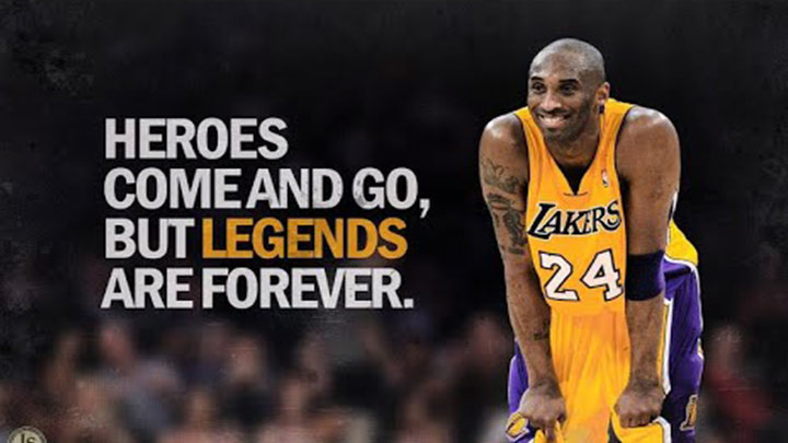 "Kobe Bryant: Forever In Our Hearts 😢 ""Heroes Come..."