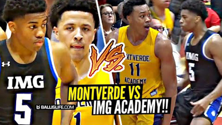 Montverde Dominates in Tournament Final vs IMG Academy!