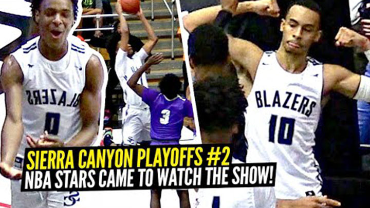 Sierra Canyon Playoff Game vs St. Anthony's Gets Wild!