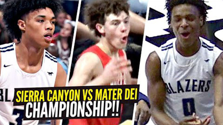 Sierra Canyon and Mater Dei Face Off for CIFSS Open Division Championship!