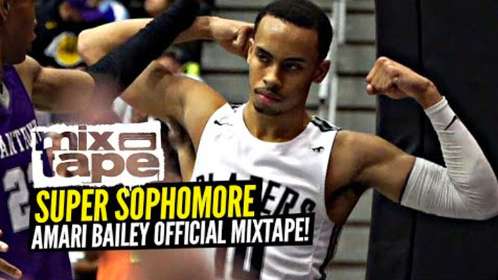 Amari Bailey Official Sophomore Mixtape!