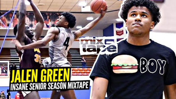 Jalen Green Official Senior Mixtape!