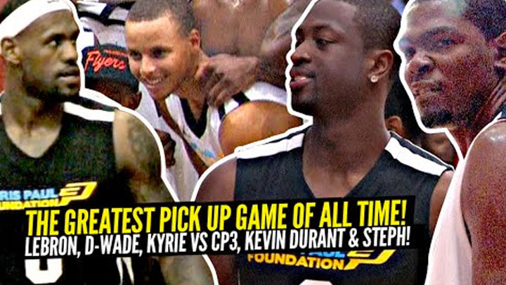 LeBron James & Dwyane Wade vs Kevin Durant &...
