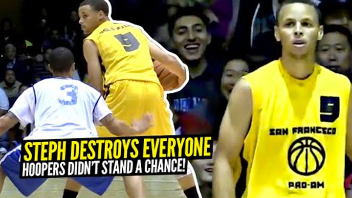 Steph Curry DESTROYS Regular Hoopers! What a 2x NBA MVP Looks Like vs Non-NBA Competition!