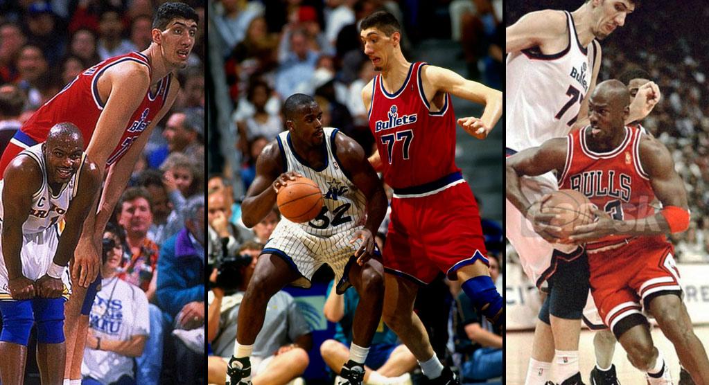 Jogadores mais altos da NBA Muresan