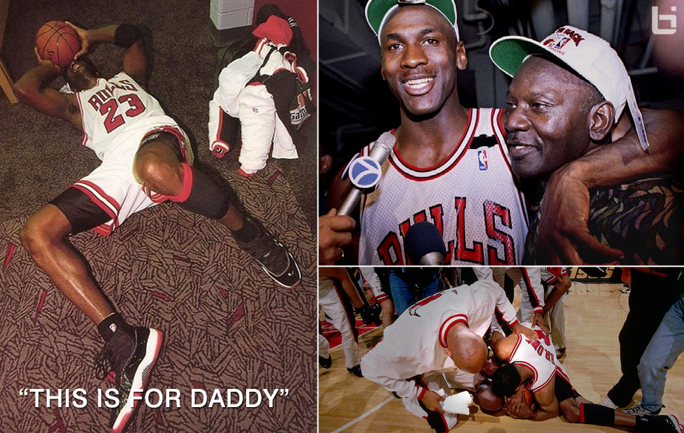 Michael Jordans Emotional Fathers Day Championship