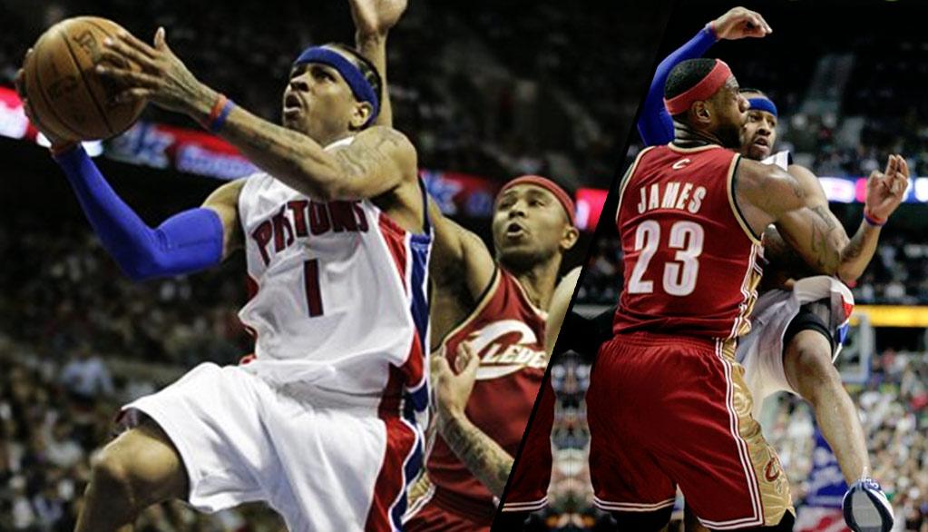2008  Allen Iverson   Pistons End LeBron Cavs 8-Game Win Streak bae76445d