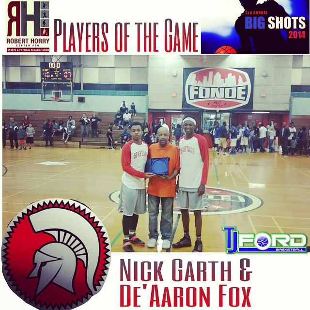 De'Aaron Fox with 2 big dunks at 3rd Annual Big Shot ...