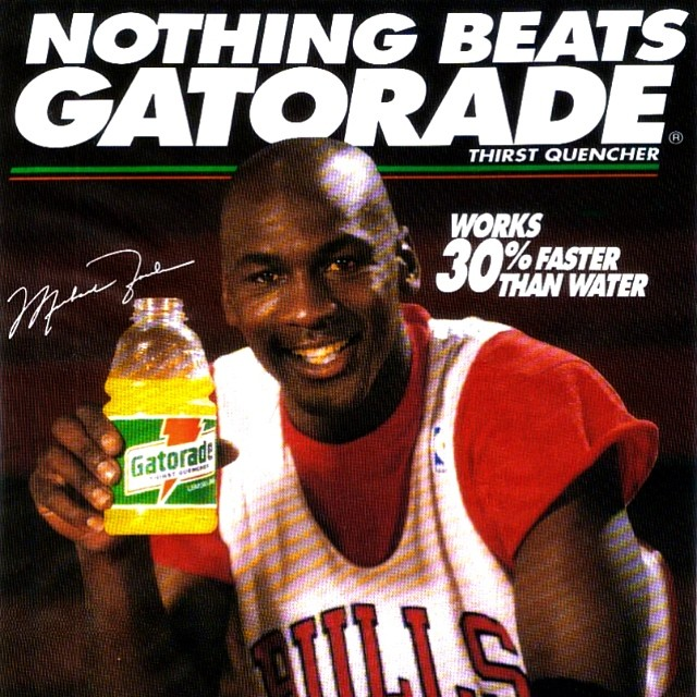 The story behind Michael Jordan leaving Coke for Gatorade ...