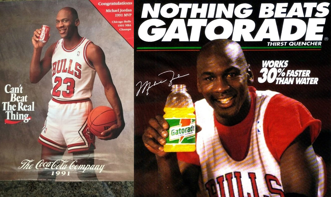 "5d38859808a6f4 The story behind Michael Jordan leaving Coke for Gatorade   the ""Be Like  Mike"" campaign"