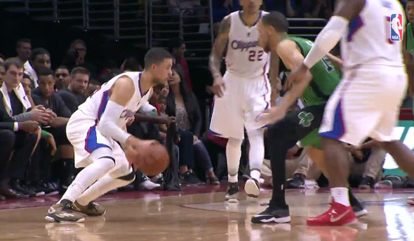 Austin Rivers Scores First Bucket For Clippers Dad Ballislifecom