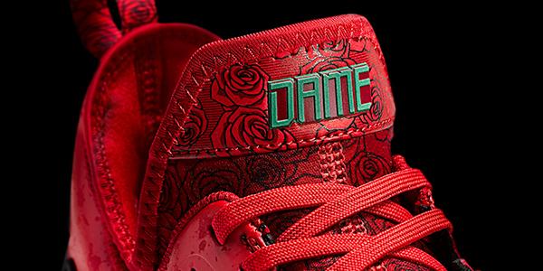 adidas dame 1 rose city