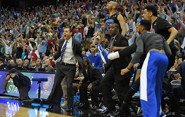 The Coach Who Tore His Achilles Celebrating Fell Out Of