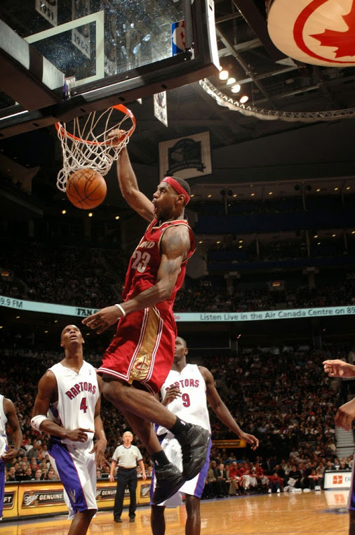 2005 Lebron Scores 56 On Raptors Becomes Youngest Player