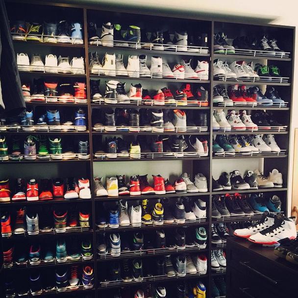 2f66ec85205 Ray Allen Shows Off His Sneaker Collection - Ballislife.com