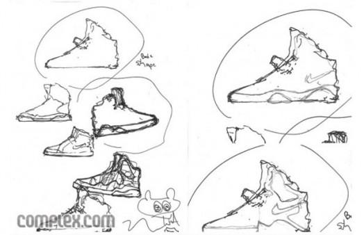 dde9a8407cb Design Sketches For Your Favorite Sneakers - Ballislife.com