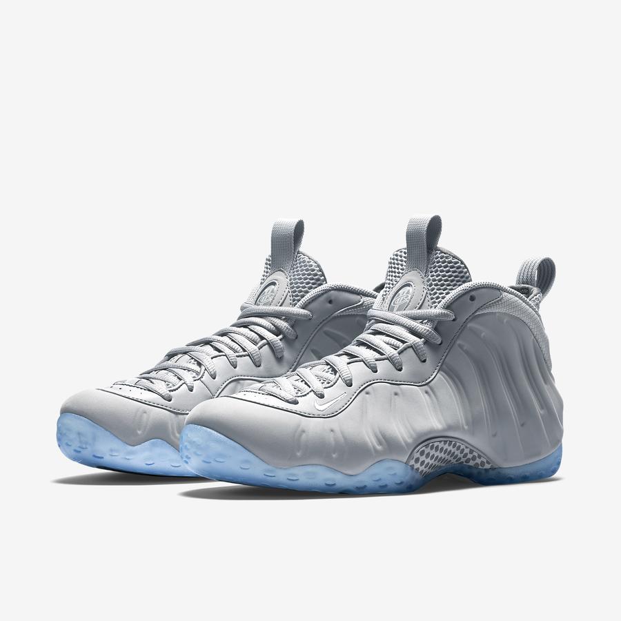 "1d5de33d312 Nike Air Foamposite ""Grey Suede"" - Ballislife.com"